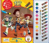 Phidal DISNEY TOY STORY (w/TS4) DELUXE POSTER PAINT & COLOR
