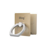 iRing - Link Phone Holder Wireless Chargers Compatible Gold