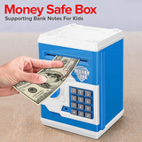 Electronic Locks Money Safe Box Supporting Bank Notes For Kids 3+Ages, GT-WF-3001/20504/22468/20162, Multicolor