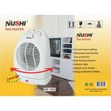 Nushi Fan Heater Ns-1203F White