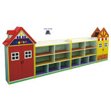 Megastar Wooden My Own Toy Shop Books Toys  & Stationery Organiser For Tidy Kids