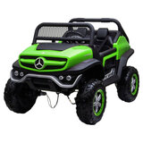 MYTS- Ride On Mercedes Benz Dragoon 12V Truck- Green