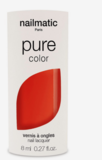 Nailmatic Pure Ella Nail Polish Coral Red