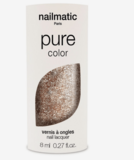Nailmatic Pure Lucia Nail Polish Gold Glitter