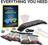 National Geographic  Light Up Crystal Growi Lab