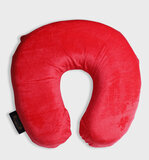 Parry Life Inflatable Neck Pillow - Lightweight Travel Pillow - Portable U Shape Neck Support Cushion For Camping, Hiking, Office Nap, Home, Car, Travel Airplane, Train And Bus-Maroon