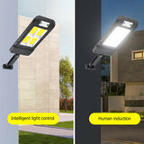 Solar LED Waterproof Wall Light Motion Sensor Outdoor Garden Yard Security Lamp
