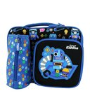 Smily Kiddos Multi Compartment Lunch Bag - Blue