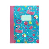 Smily Kiddos  A5 Lined Exercise Notebook - Light Blue
