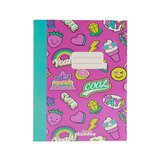 Smily Kiddos  A5 Lined Exercise Notebook - Pink