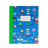 Smily Kiddos  A5 Lined Exercise Notebook - Blue