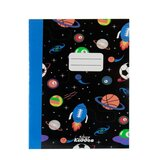 Smily Kiddos  A5 Lined Exercise Notebook - Black