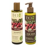 EO Laboratorie Organic Restoring Shampoo & Conditioner For Damaged & Colored Hair (250Ml+200Ml)