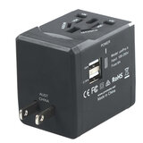 Promate Innovative Multi-Regional Travel Adaptor for USB-Charged Devices UniPRO.4
