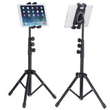 Tripod For Ipad, Tablet, Mobile Phone, Stand Mount Holder 60In Height Adjustable