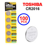 Toshiba CR2016 3V Lithium Coin Cell Battery One Box